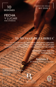 CURSO :  EL  MENSAJE  DE  LA  BIBLIA –  CERTIFICADO MÓDULO PRESENCIAL