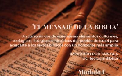 CURSO :  EL  MENSAJE  DE  LA  BIBLIA – MÓDULO III