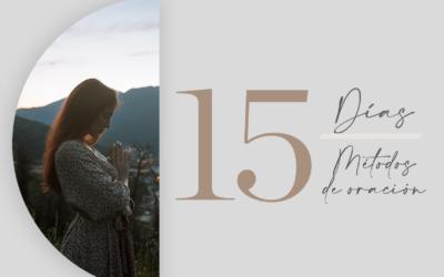 Taller: 15 días 15 métodos